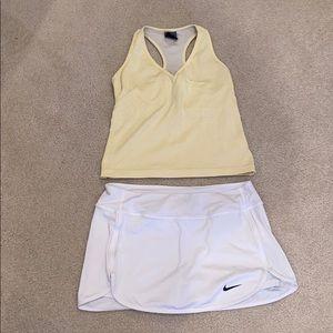Nike skirt and tank